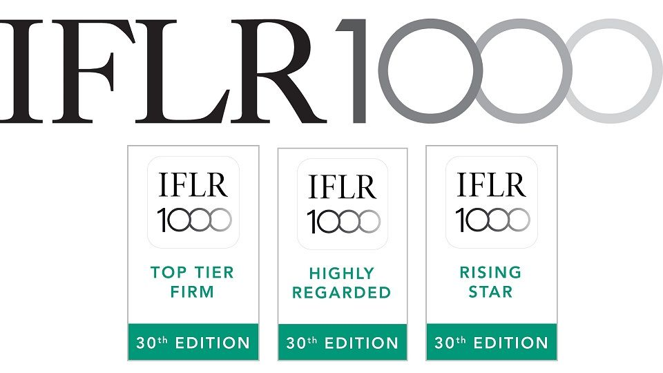 IFLR1000 Ranks MVGS and its Leading Lawyers