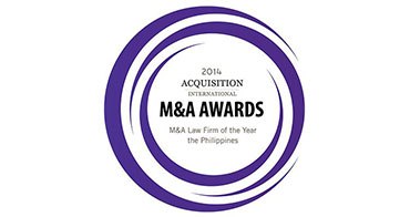 M&A Law Firm of the Year - the Philippines