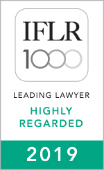 IFLR1000 Highly Regarded 2019