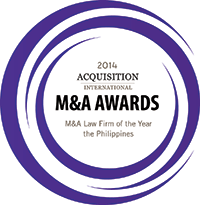 Acquisition International's 2014 M&A Award Winner